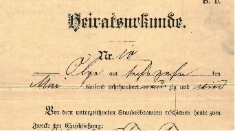 7 Tips For Reading German Marriage Certificates Katherine Schober